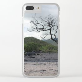 Life and Death Clear iPhone Case