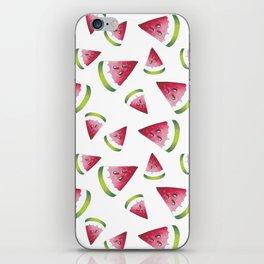 Watermellon pattern iPhone Skin