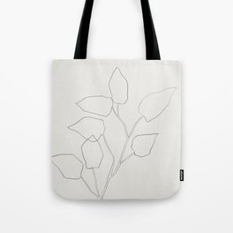 Floral Study no. 5 Tote Bag