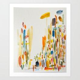 No. 1 (arrival) Art Print