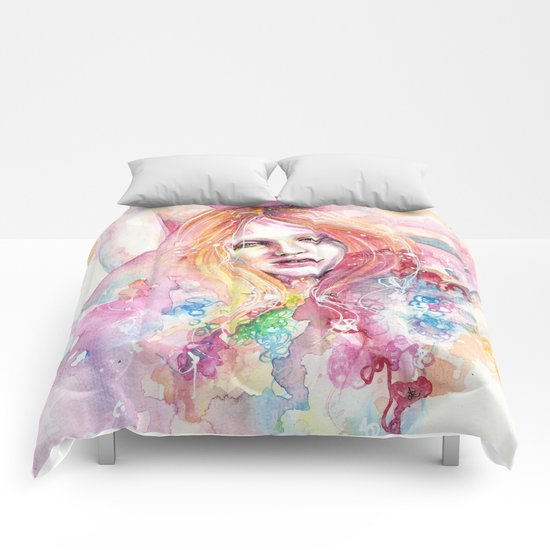 Whatever Doesn't Kill Me Comforters