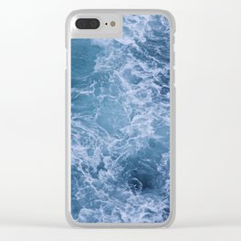 The Untamed Sea Clear iPhone Case