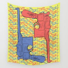 Bang! Bang! Wall Tapestry