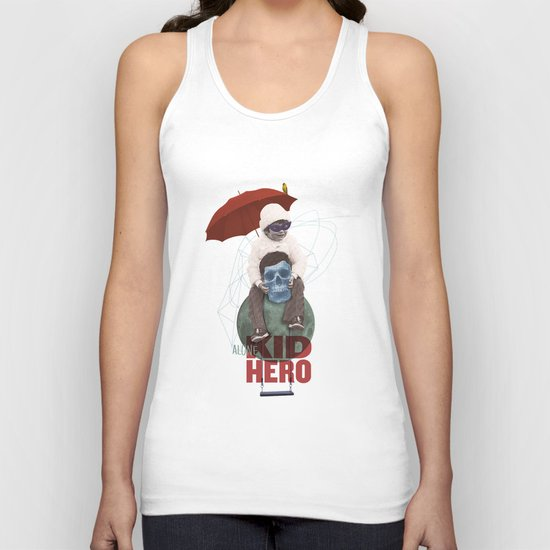 KID HERO Unisex Tank Top