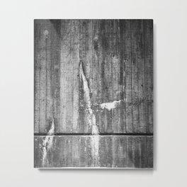 Leaky Wall Texture Metal Print