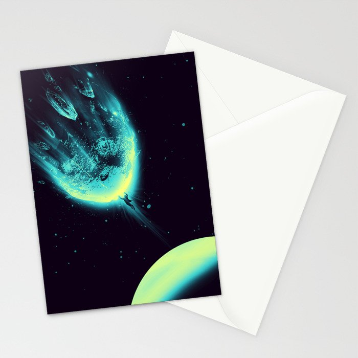 There Is No Planet to Save Stationery Cards