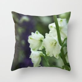 Snowbells in the Summer Throw Pillow