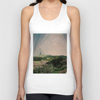 camping Tank Tops featuring Sky Camping by Ffion Atkinson