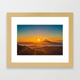 The Southern Alps Framed Art Print
