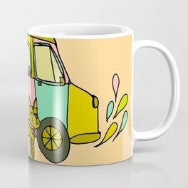 Surf Adventure Van Coffee Mug