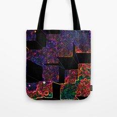 Electric Cubes  Tote Bag