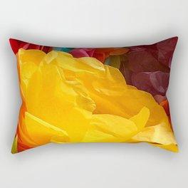Fun Fiesta Flowers Rectangular Pillow