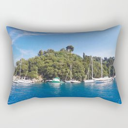 Sail Island Rectangular Pillow