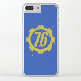 Shelter 76 Clear iPhone Case