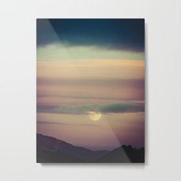 Montana Sunset Metal Print
