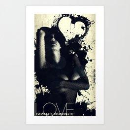 Everyone is Deserving of Love Art Print