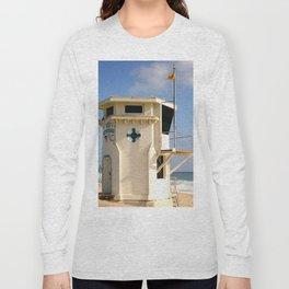 Laguna Beach Lifeguard Tower Long Sleeve T-shirt
