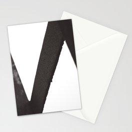Metal W Stationery Cards