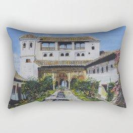 Palacio de Generalife Rectangular Pillow
