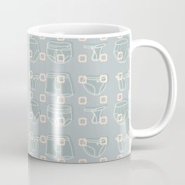 Underwear Grey Color Coffee Mug