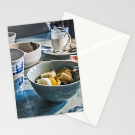 Breakfast 3 Stationery Cards