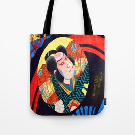 Utagawa Kuniyoshi Kabuki Actor Tote Bag