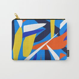 Abstract Stripes Carry-All Pouch