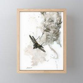 Mig 29 Framed Mini Art Print