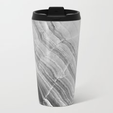 Shades of grey marble Travel Mug