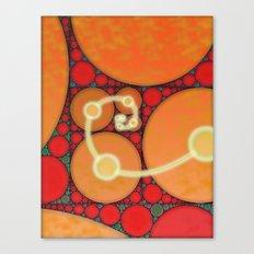 Fibonacci Spiral Fractal Canvas Print