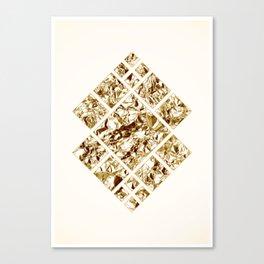 Geometric GOLD Canvas Print