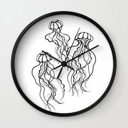 jellyfish group Wall Clock