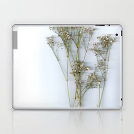 Dry Whites / Flowers Laptop & iPad Skin