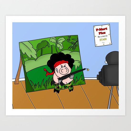 Hambo! Art Print