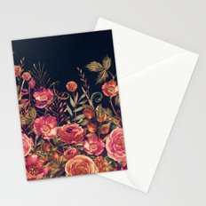 Vintage Garden 3 (Night Flowers) Stationery Cards