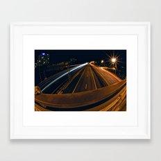 395 South Framed Art Print