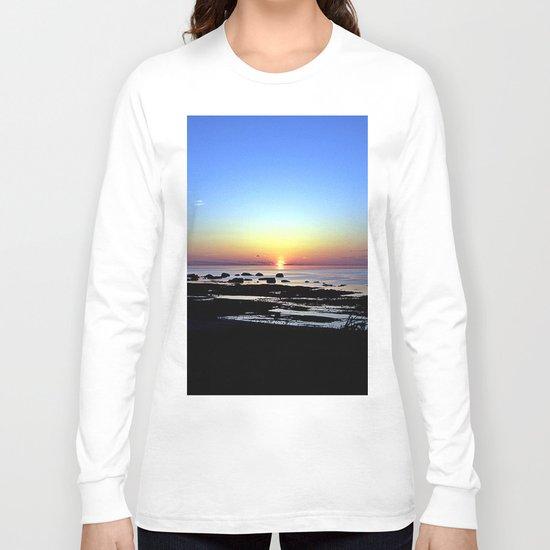 Wonderful Sunset Seascape Long Sleeve T-shirt
