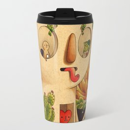 Succulent Man Travel Mug