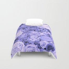 bouquet ver.blue-b Duvet Cover