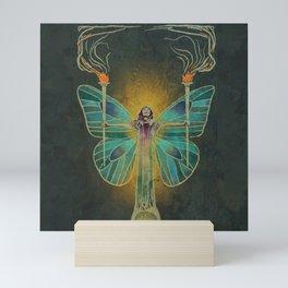 Keeper Of The Ancient Flame Mini Art Print