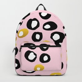 Dots Black & Gold Backpack