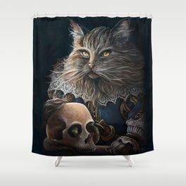 William Shakesbeard Shower Curtain
