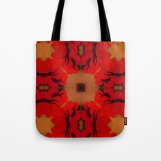 Red Yams Tote Bag