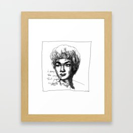 Etta James Framed Art Print