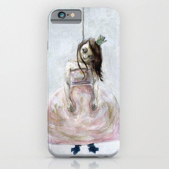 sad princess iPhone & iPod Case