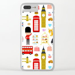 Enjoy London! Clear iPhone Case