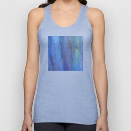 Edges of the Sky in Blues, Aquas and Green Unisex Tank Top