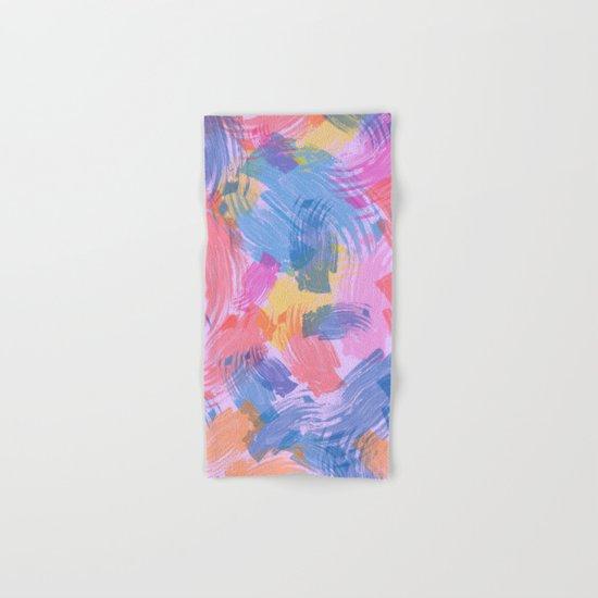 Abstract Painting II Hand & Bath Towel