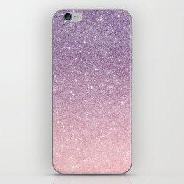 Ombre glitter #14 iPhone Skin