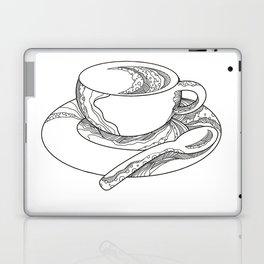 Cup of Coffee Doodle Laptop & iPad Skin